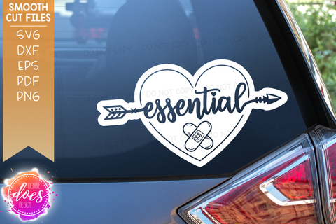 Essential Worker Hearts Bundle - 32 Designs! - SVG Files