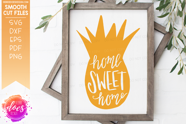 Home Pineapple - SVG File