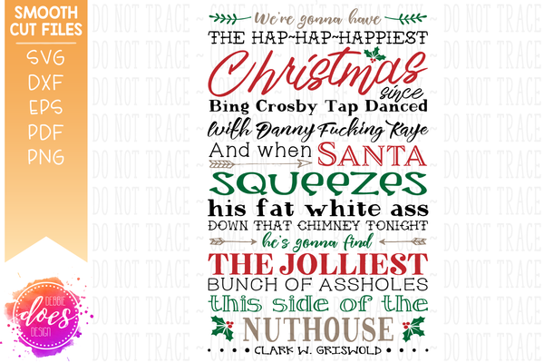 Jolliest Bunch - Griswolds - Christmas Vacation - SVG File