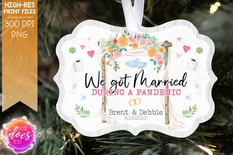 We Got Married During a Pandemic - Benelux - Sublimation/Printable Design
