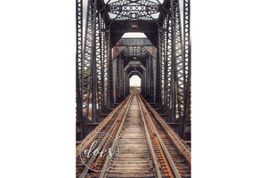 Old Train Bridge - High Res Digital Photograph