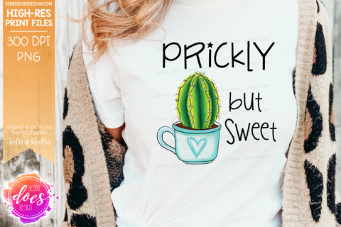 Prickly But Sweet - Sublimation/Printable Design
