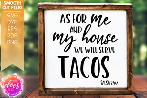 Serve Tacos - SVG File