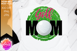 photograph relating to Printable Versions identify Golfing Mother - 2 Types - Sublimation/Printable Layout