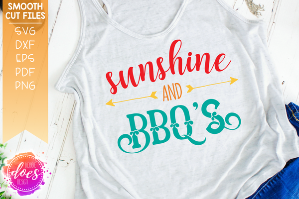 Sunshine and BBQ's - SVG File
