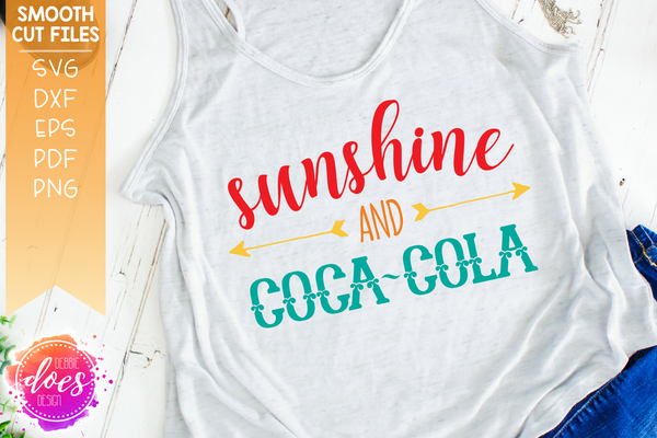 Sunshine and Coca-Cola - SVG File