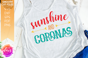 Sunshine and Coronas - SVG File