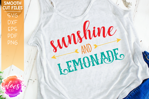 Sunshine and Lemonade - SVG File