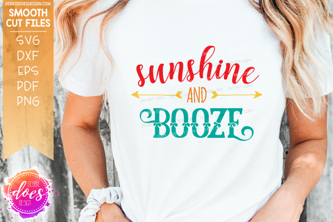 Sunshine and Booze - SVG File