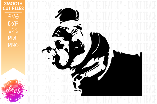 Sweet Boxer Face - Dog SVG File