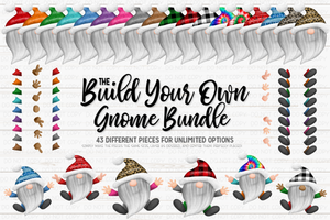 Build Your Own Gnome Bundle - Sublimation/Printable Design