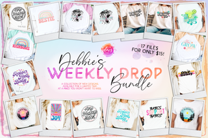 EXPIRED ~ Debbie's Weekly Design Bundle Drop (4/25) ~ Still discounted, just not as much.