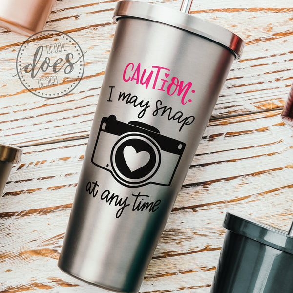 I May Snap - Photographer - SVG | Digital Cut File | HTV Svg | Vinyl Decal Svg | Vinyl Stencil Svg