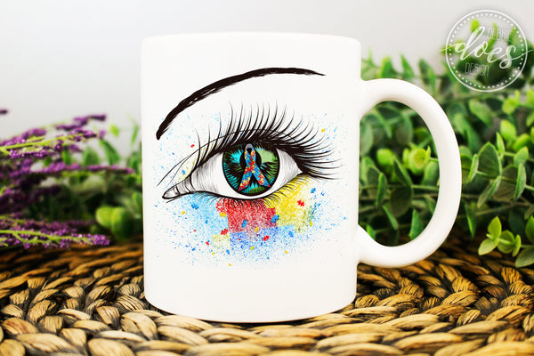 Awareness Eye Design Bundle - 33 Variations! - Instant Download | Sublimation | Printable | PNG | JPG