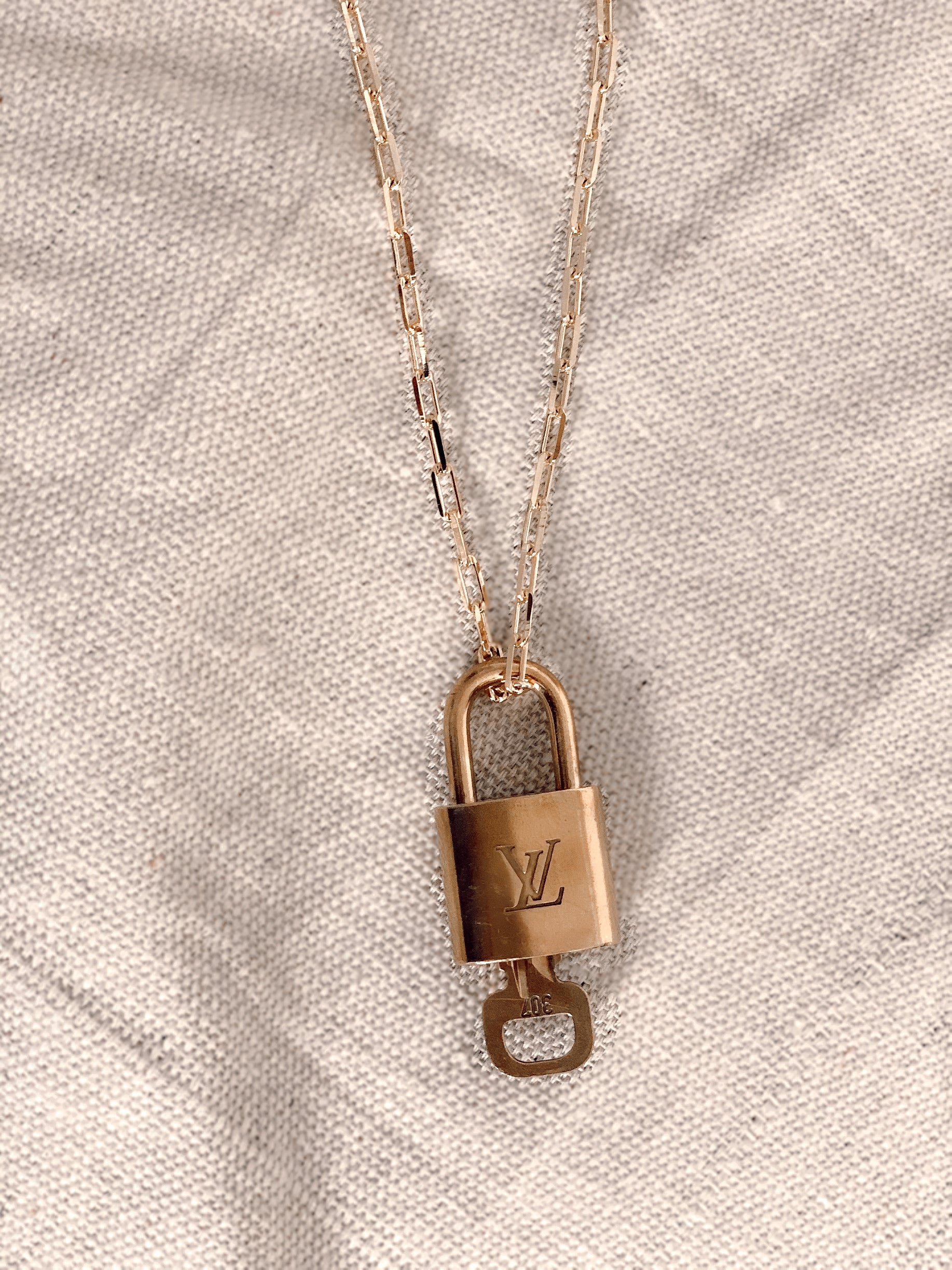 Vintage LV Locket