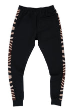 Load image into Gallery viewer, WyldOnes Side Animal Print Track Pants- WO201- Zebra