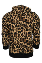 Load image into Gallery viewer, WyldOnes Animal Print French Terry Hoodie- WO502 - Leopard