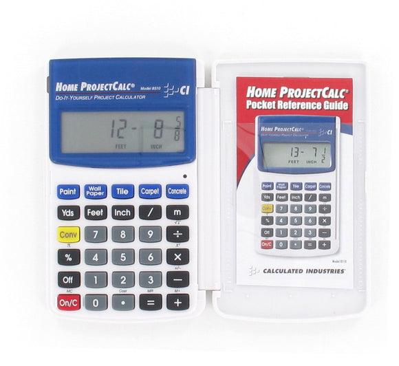 Feet / Inch / Fraction Calculator - Calculated Industries Model 8510-PWB