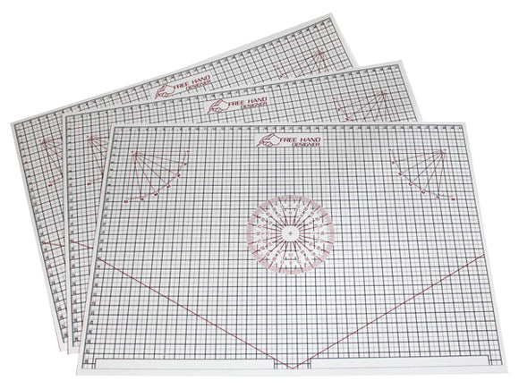 Free Hand Drawing Grid - A3 (11.69