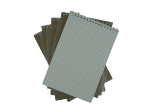 CatMan2 Graph Paper refill - A5 (5.8 x 8.3 in.)