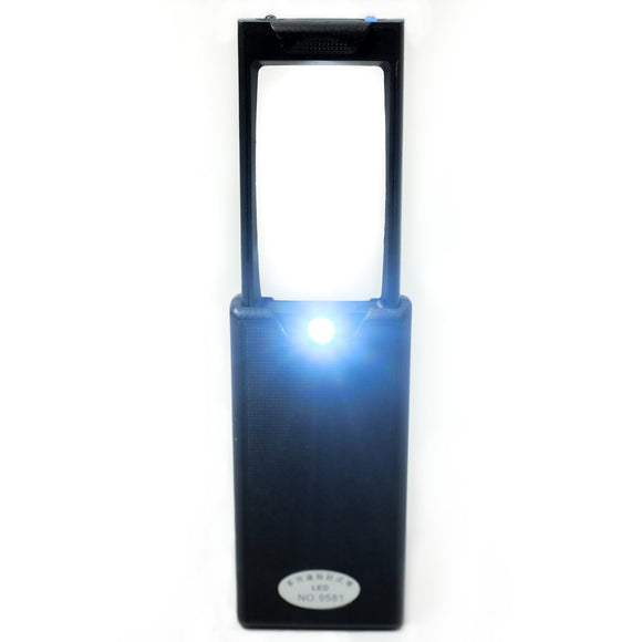 Pop-Up Magnifier with LED Light