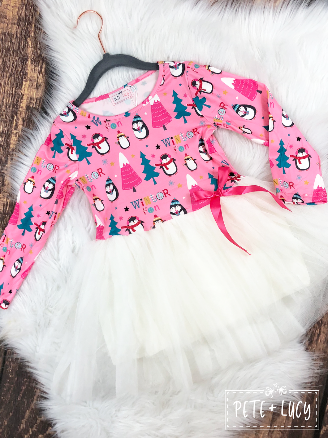 Winter Tutu Dress