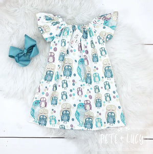 Flutter Sleeve Summer Dress