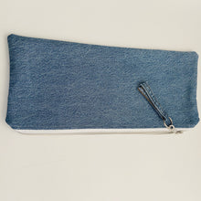Load image into Gallery viewer, Denim Pouch w/ Gondola Print