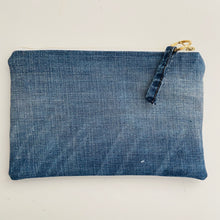 Load image into Gallery viewer, Sushi Roll Denim Pouch