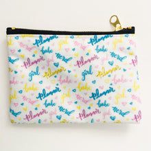 Load image into Gallery viewer, Planner Girl Babe Nerd Mini Pouch