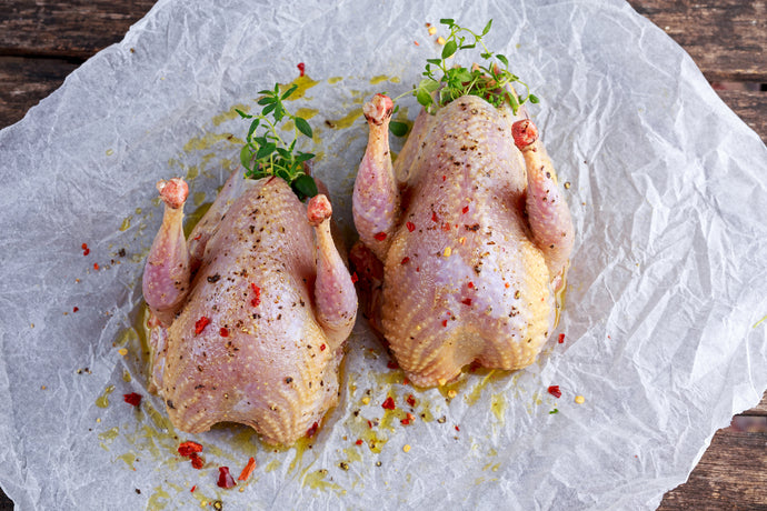 Brace of Oven Ready Partridge