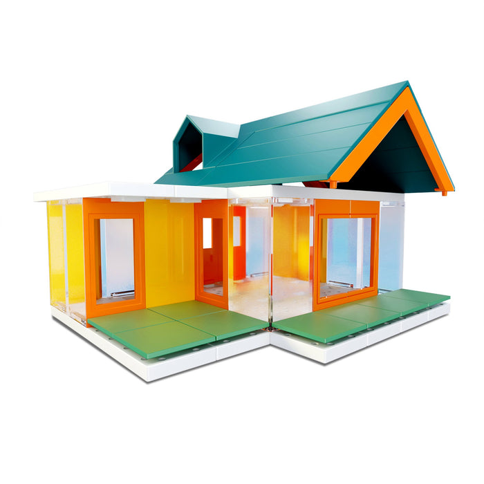 Arckit Mini Dormer Colours 2.0 - 80 piece Architectural Model Kit (Case Pack of 6)