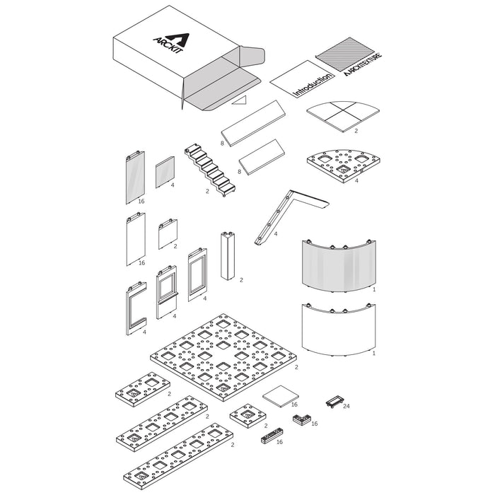 arckit go plus 2.0 sample building components
