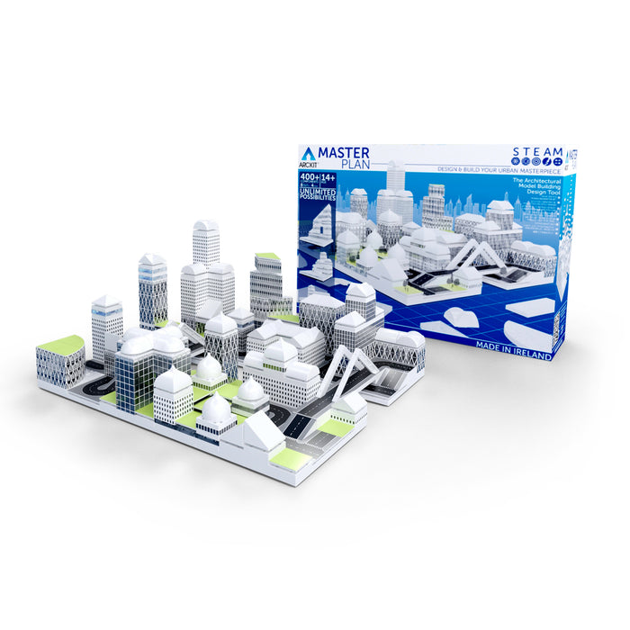 Arckit Masterplan -Architectural Model Building Kit (400+ Piece)