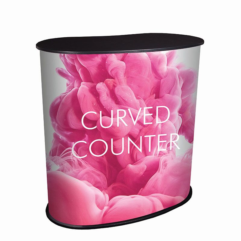 Promotional Curved Counter