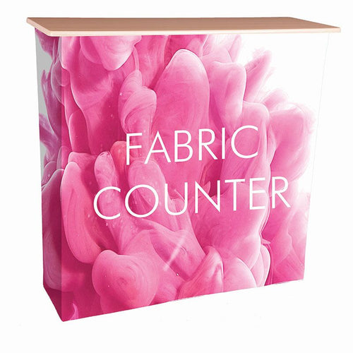 Fabric Pop Up Counter