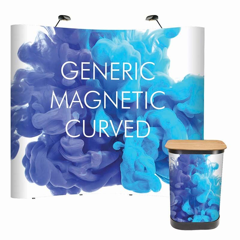 Magnetic Pop Up Curved/Straight