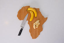 Load image into Gallery viewer, Africa Bamboo Charcuterie Board
