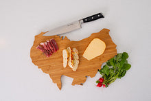 Load image into Gallery viewer, Australia Bamboo Charcuterie Board