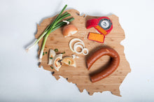 Load image into Gallery viewer, Poland Bamboo Charcuterie Board