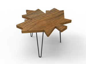 Maple Leaf Coffee Table