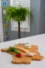 Load image into Gallery viewer, France Bamboo Charcuterie Board