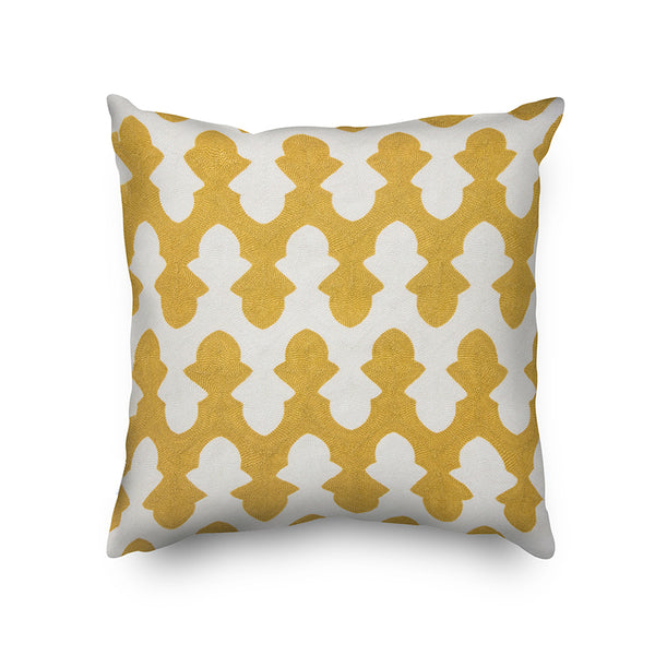 Geometric Embroidery Decorative Cushion Cover