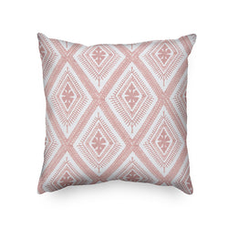 Flower Pink  Cotton Embrioidery Cushion Cover