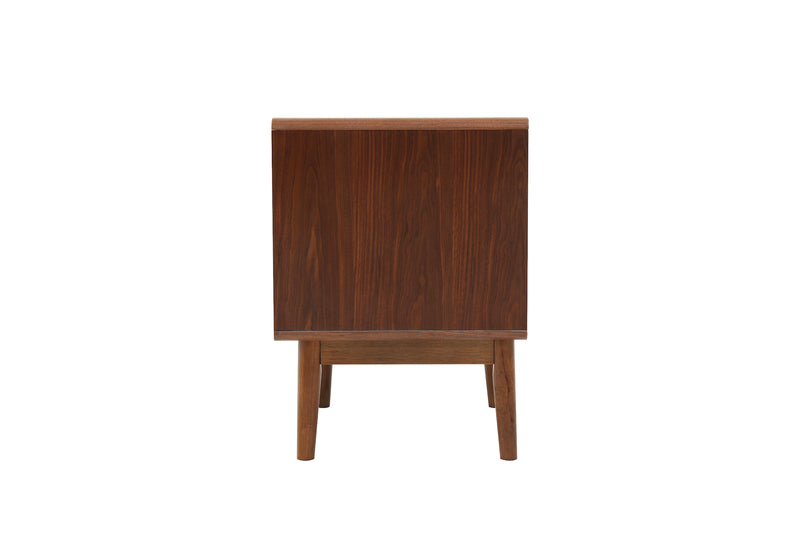 Monica Bedside Table Walnut