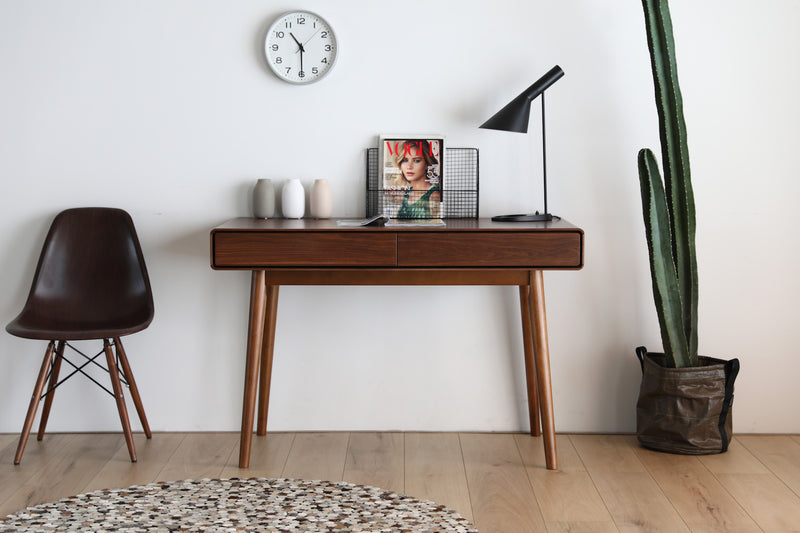 Monica Desk Walnut