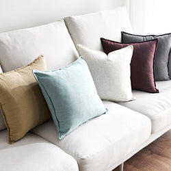 Solid Design Single Color Cushion Cover