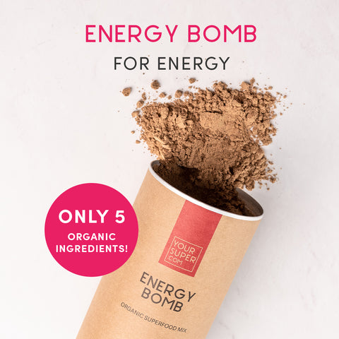 Your Super Energy Bomb Coffee Free Caffeine Alternative