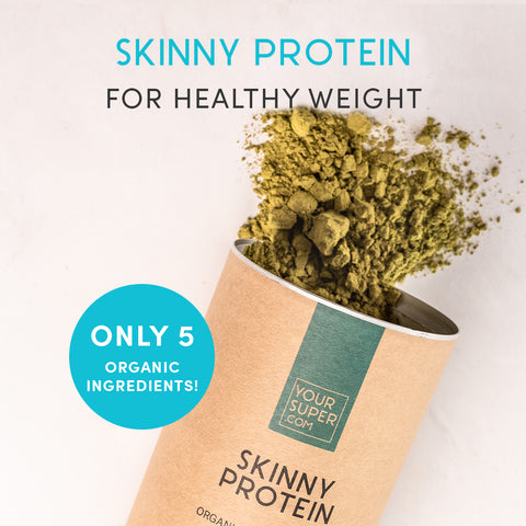 Your Super Skinny Protein Organic Superfood Mix on The Clean Beauty Edit Ireland