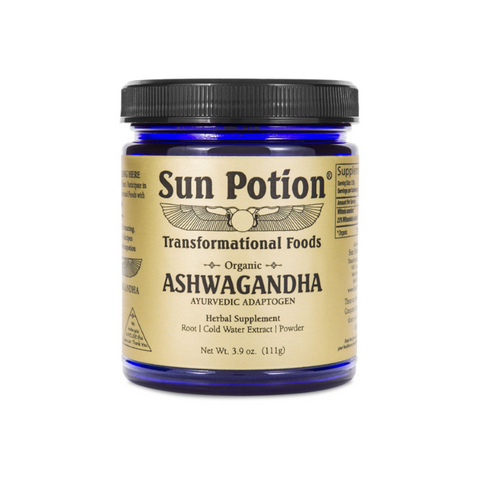 Sun Potion Organic Ashwagandha Powder Adaptogens